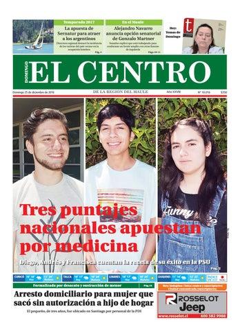 Diario 25-12-2016 by Diario El Centro S.A - issuu 15ce10af68