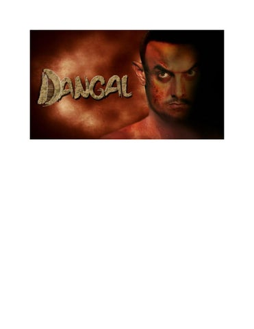 Dangal Full Movie 2016 By Youtube Bollywood Issuu