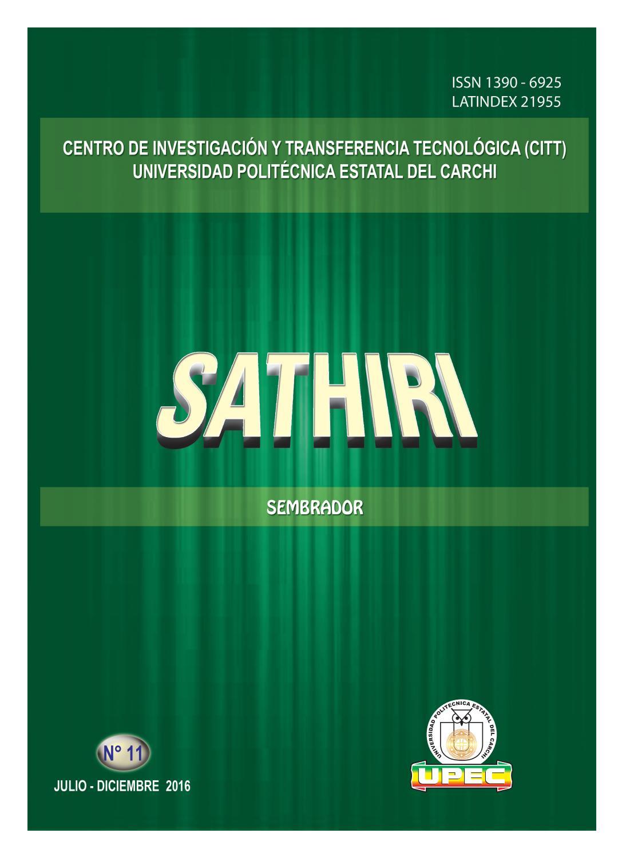 detailed look f5c3c 4cab1 Sathiri 11 aprobado con portadas by Editorial Universidad Politécnica  Estatal del Carchi - issuu