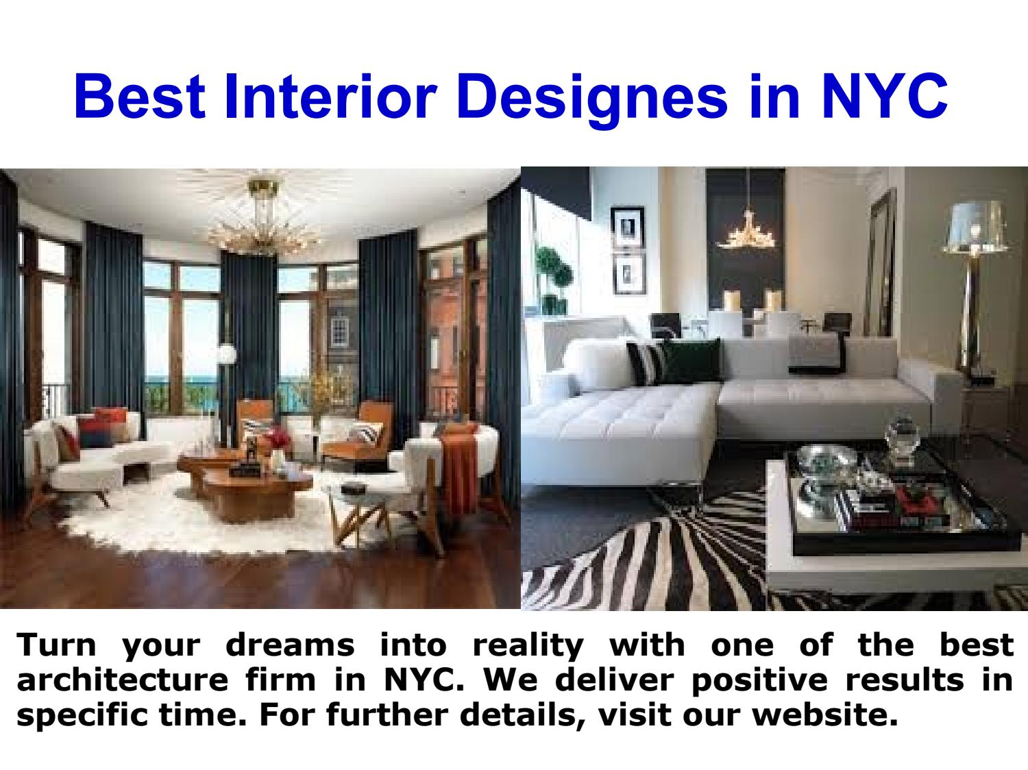 Best Residential Architect Firm In Nyc By Victoria Benatar