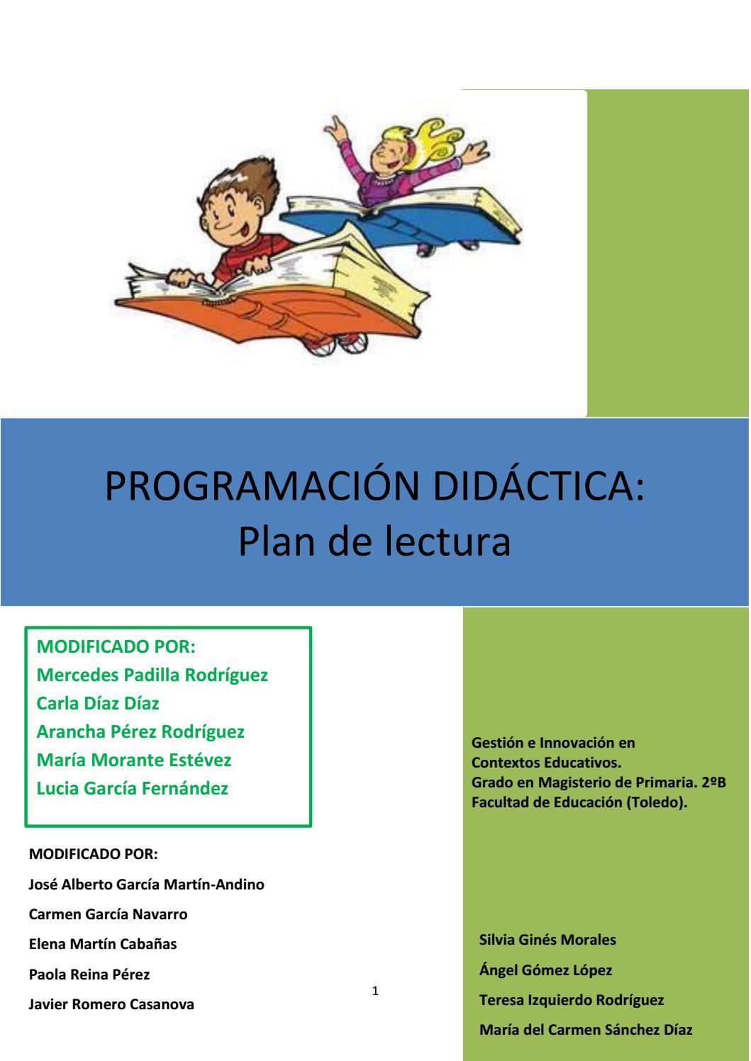 4078ae396286 Plan de lectura grupal (1) by kiwistica - issuu
