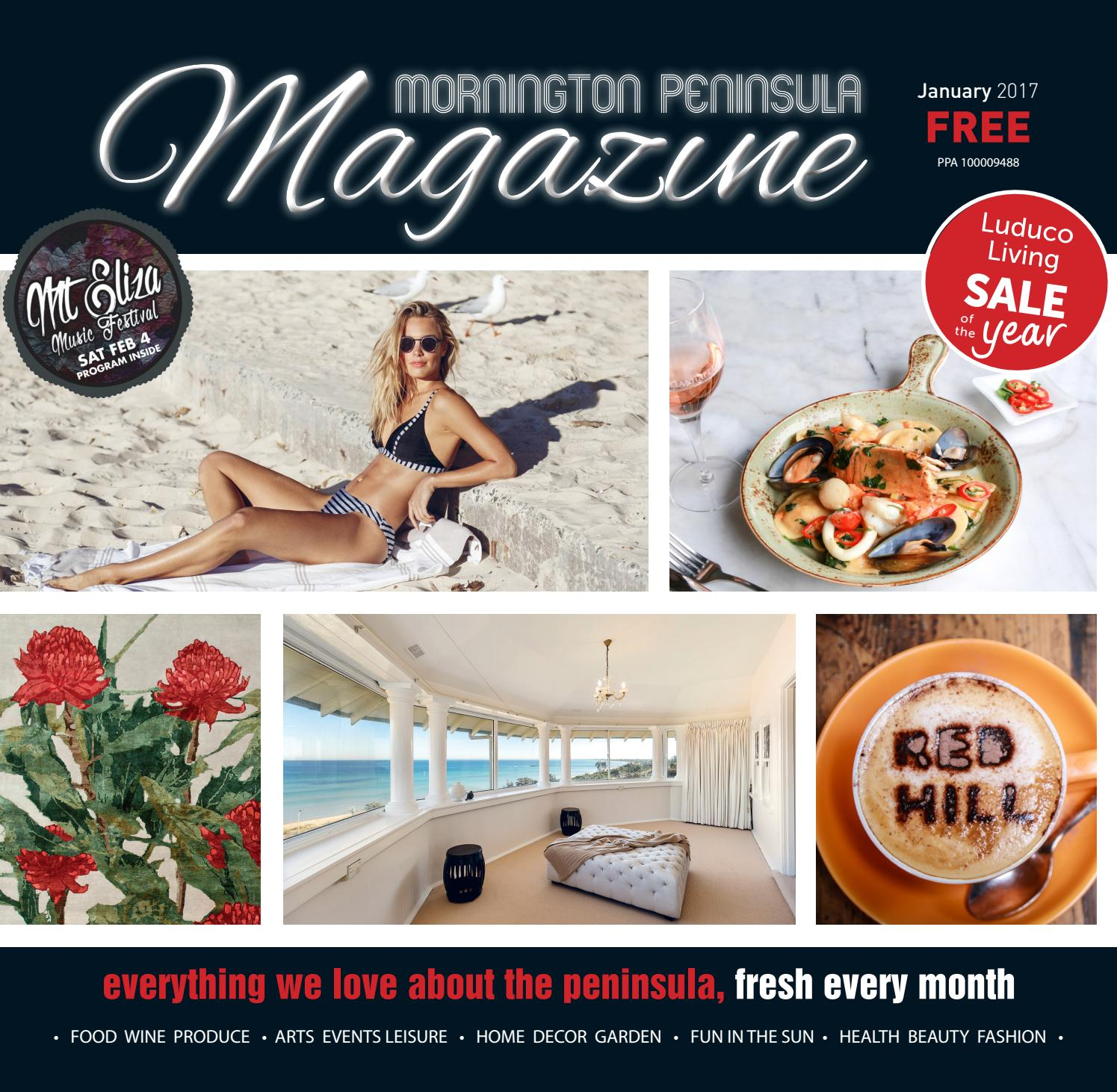 Mornington Peninsula Magazine January 2017 By Buy 1 Get Free Monopoly Cosmetic Organizer Tas Treveler Issuu