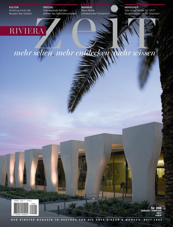 Riviera Zeit - Januar/Februar 2017 by Riviera Press - issuu