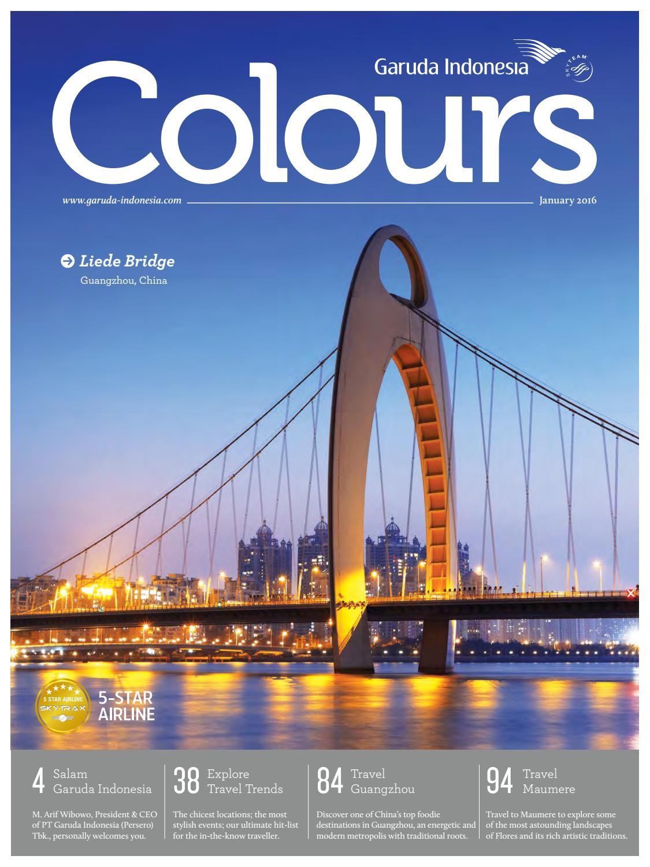Colours Garuda Indonesia January 2016 By Agency Fish Issuu Kalibre Kaos Lengan Pendek Hitam Pria Black Men Short Sleeve T Shirt 980180 Monday Enjoy