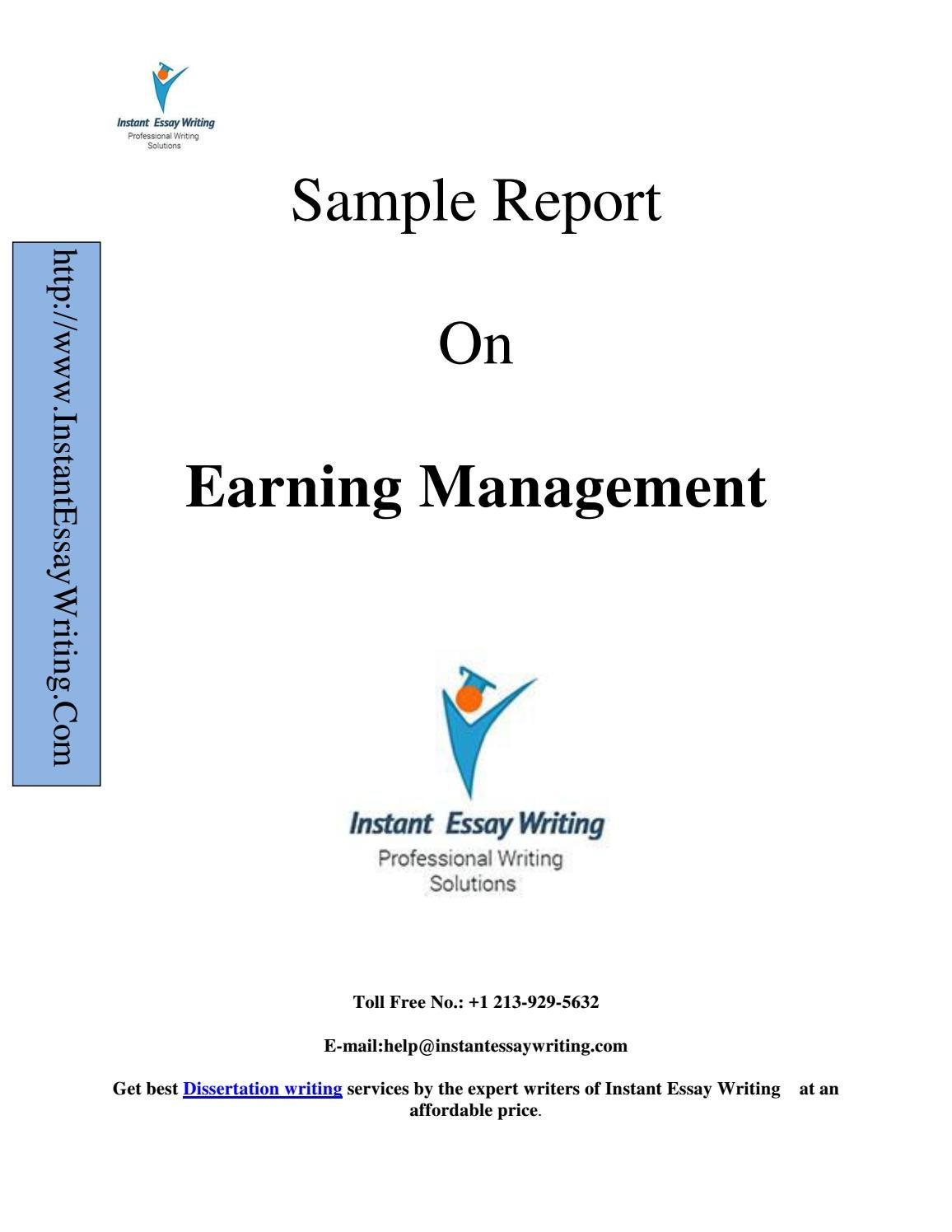 sample management essay