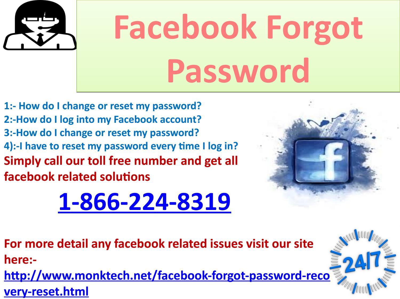 Reset Facebook password 1-866-224-8319 Issue Can Be Dealt