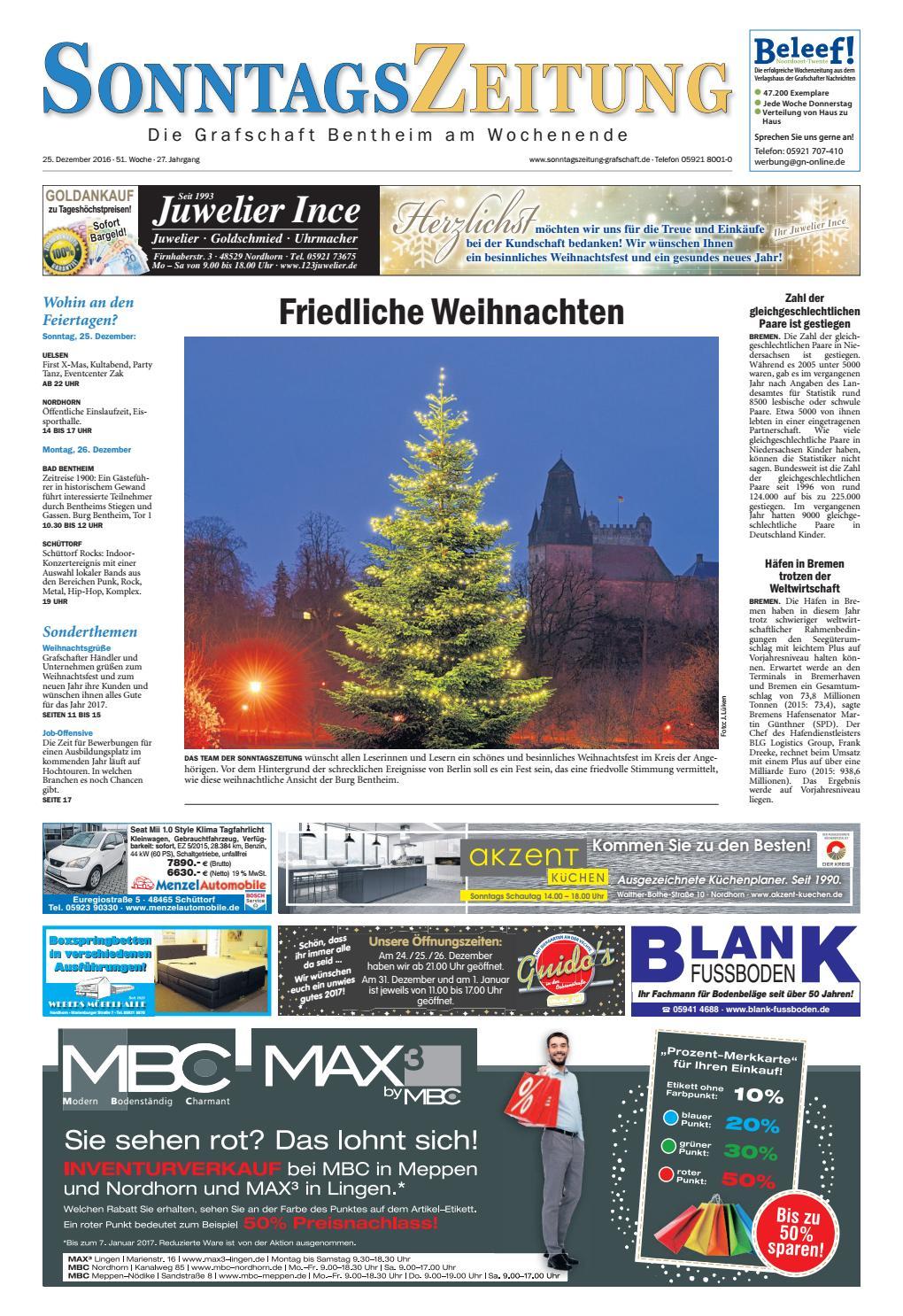 Sonntagszeitung 25 12 2016 By Sonntagszeitung Issuu