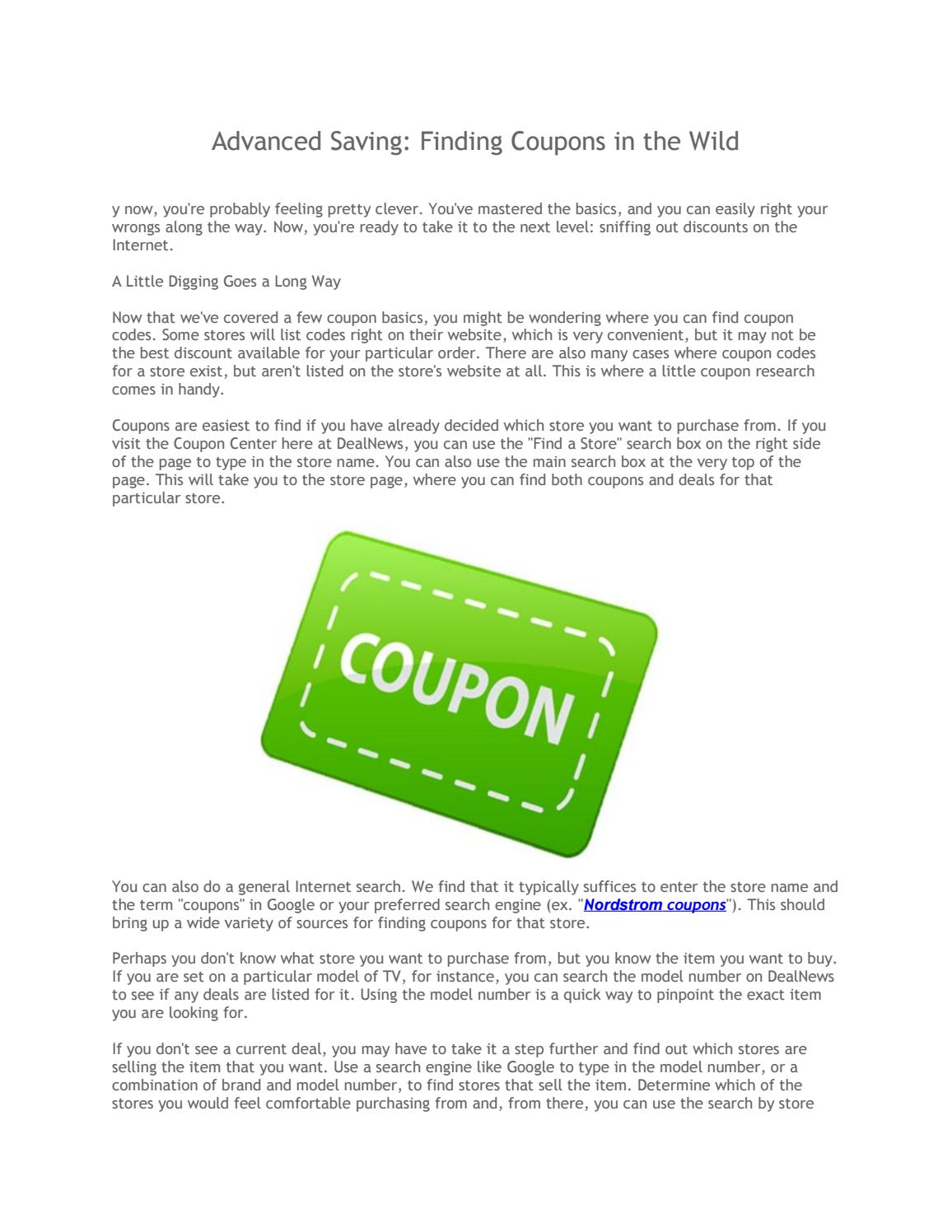 Advanced saving by Couponforless - issuu