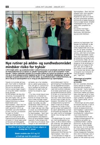 hjemmeplejen lolland kommune
