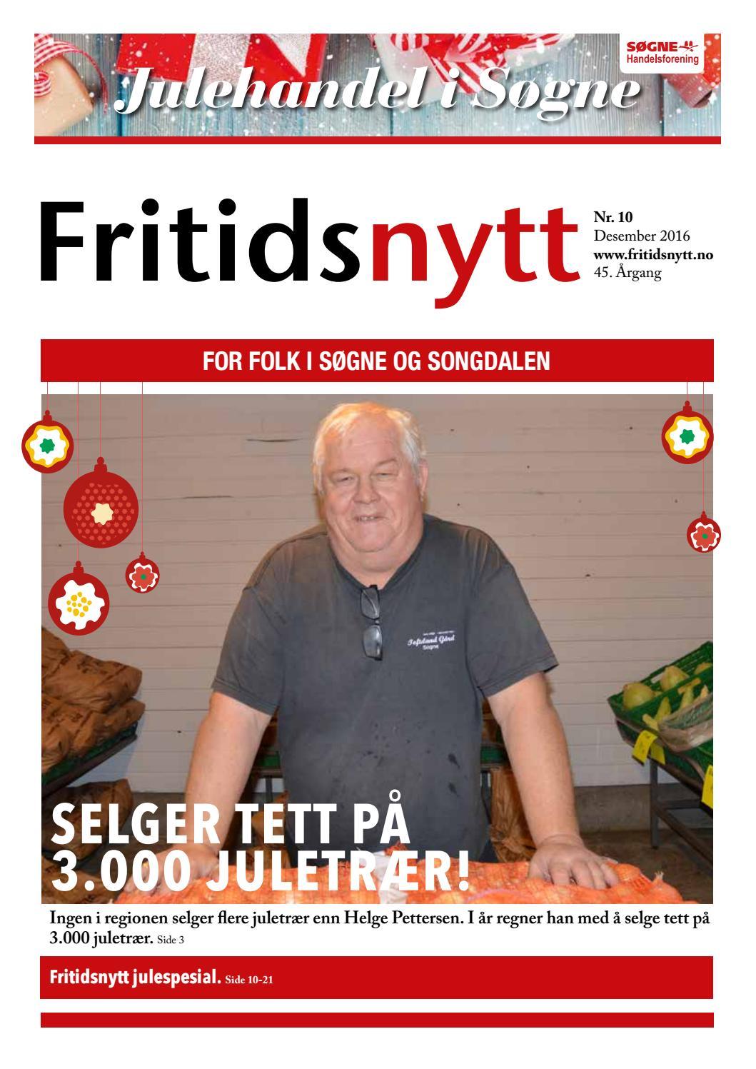 3bb09db45f0 Fritidsnytt nr 10 2016 by Tvende Media AS - issuu