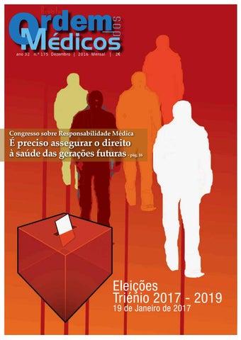 Revista Ordem dos Médicos Nº175 Dezembro 2016 by Ordem Dos Médicos ... e2194a0e69
