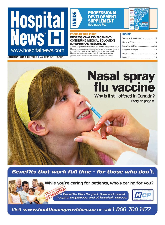 Hospital News 2017 January Edition By Hospital News Issuu