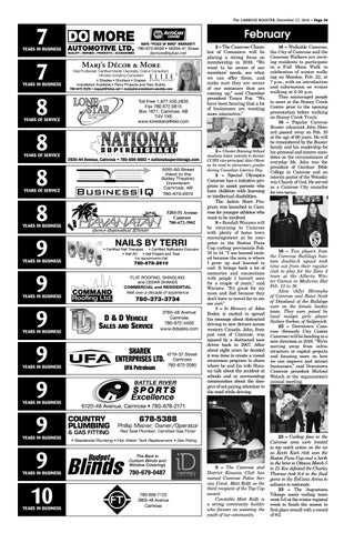 December 27 2016 camrose booster by the camrose booster issuu the camrose booster december 27 2016 page 30 publicscrutiny Image collections