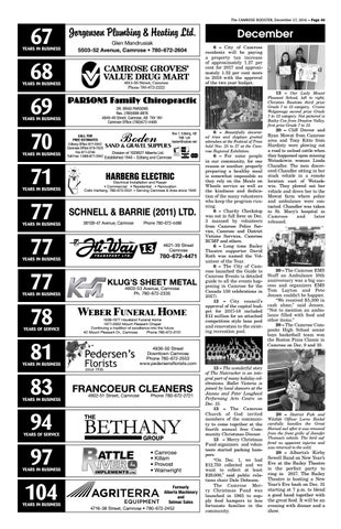 December 27 2016 camrose booster by the camrose booster issuu the camrose booster december 27 2016 page 40 publicscrutiny Image collections