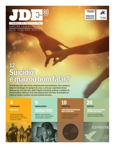 aac5ed8974d Jornal Espiritismo n.º 80 - janeiro . fevereiro 2017 by adep ...