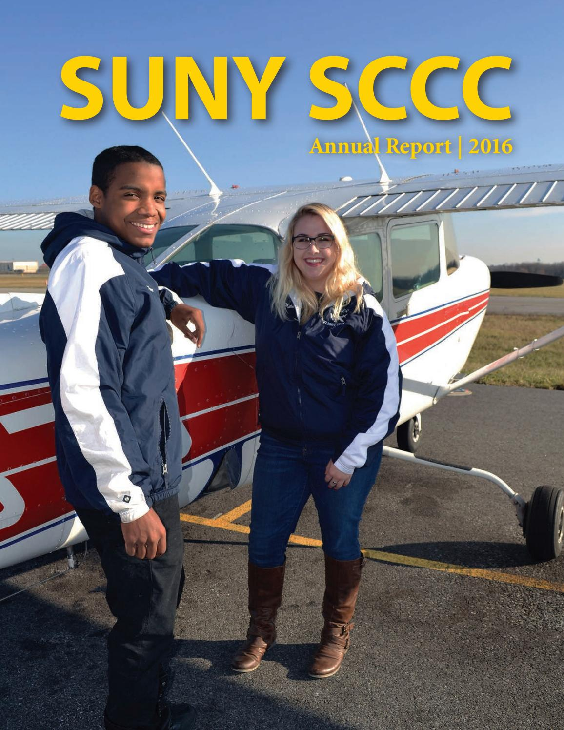 2016 Annual Report By Suny Schenectady County Community College Issuu