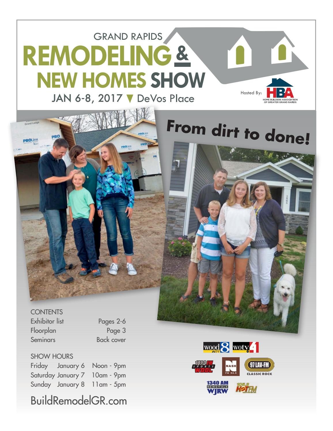 Grand rapids remodeling new homes show 2017 show program - Home and garden show 2017 grand rapids ...