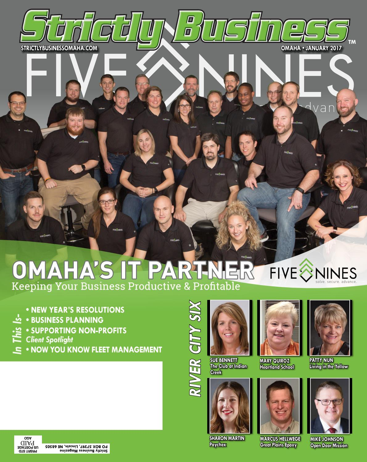 Strictly business omaha january 2017 by strictly business magazine issuu