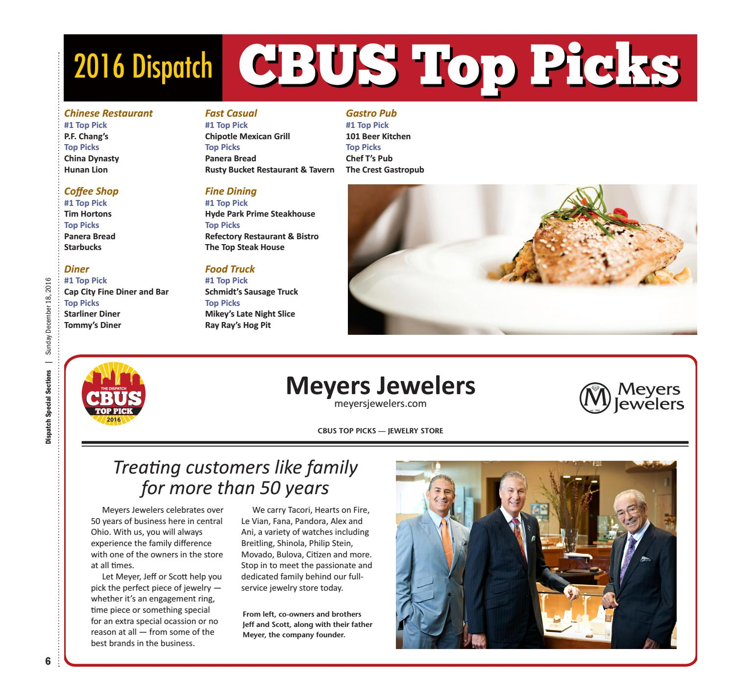 The Columbus Dispatch CBUS Top Picks 2016 by The Columbus Dispatch ...