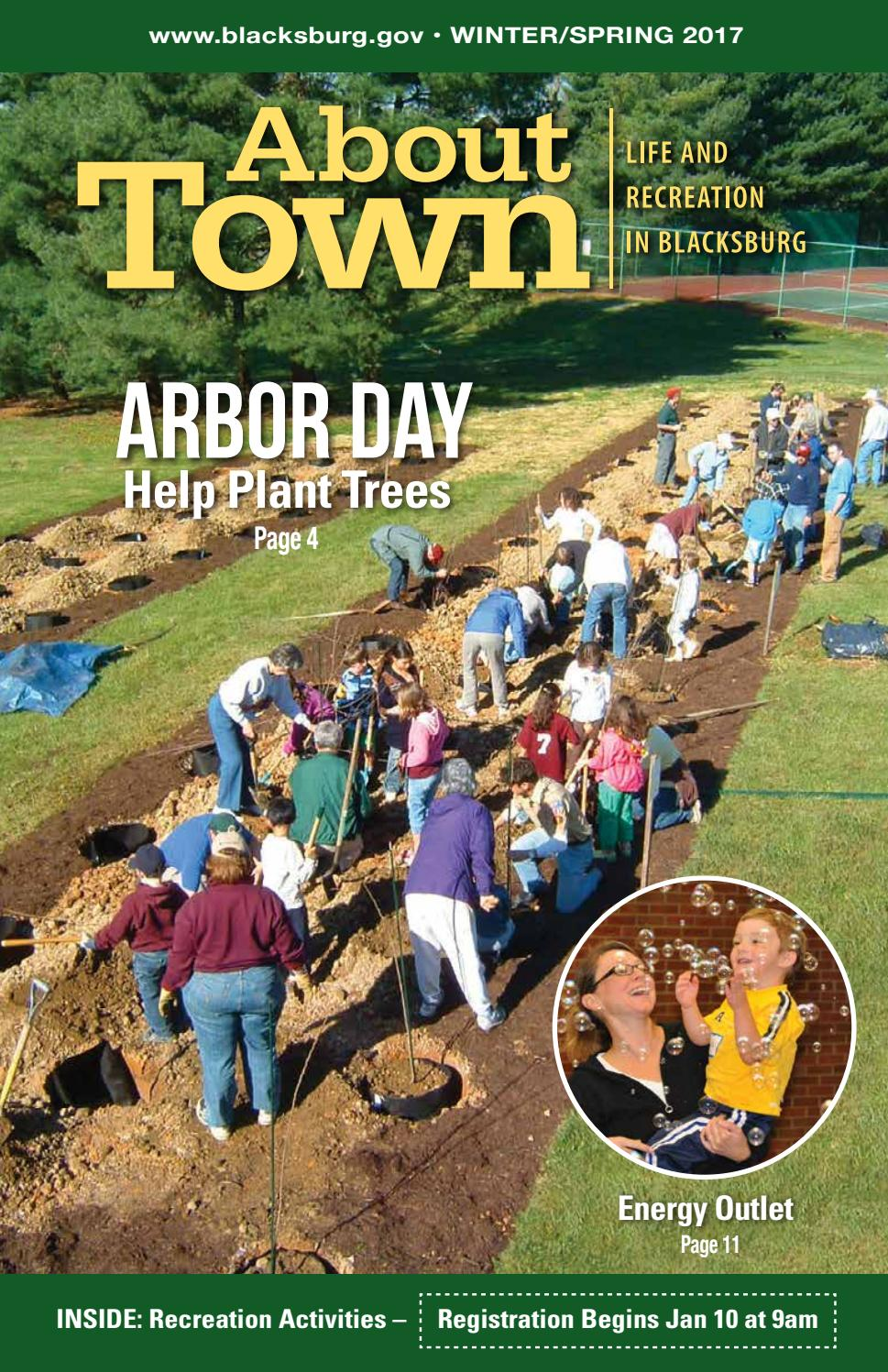 About Town - Winter-Spring 2017 by Town of Blacksburg - issuu