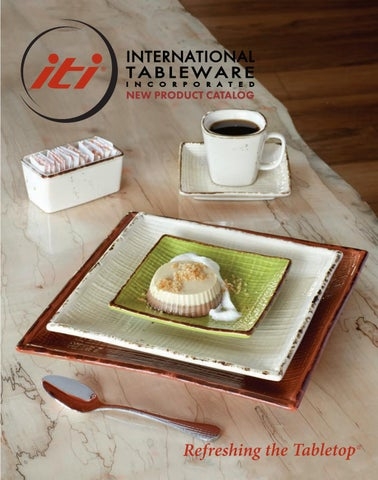 Page 1 & 2017 New Product Catalog by International Tableware Inc. - issuu