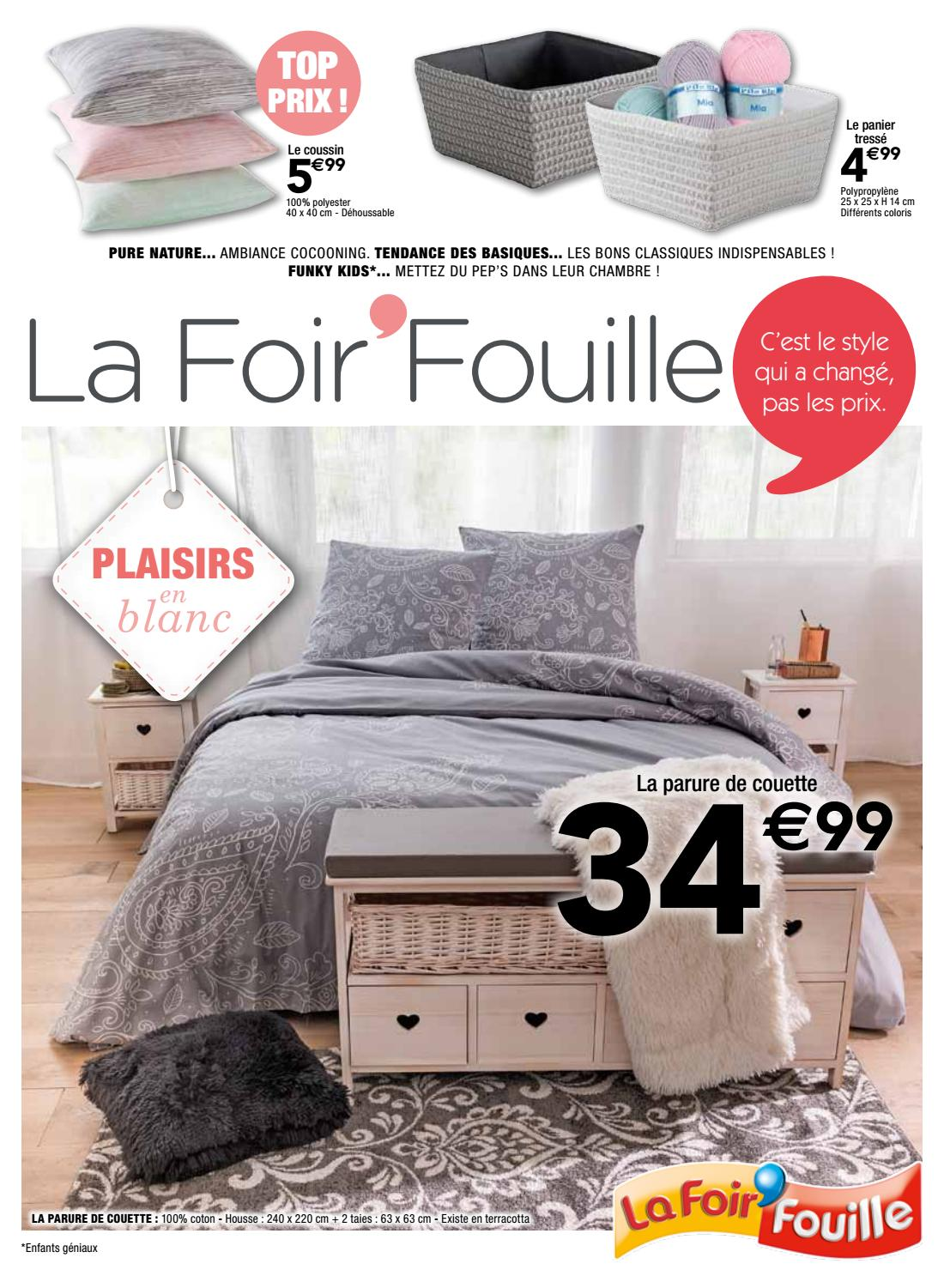 1601 plaisirs du blanc by la foir 39 fouille issuu. Black Bedroom Furniture Sets. Home Design Ideas