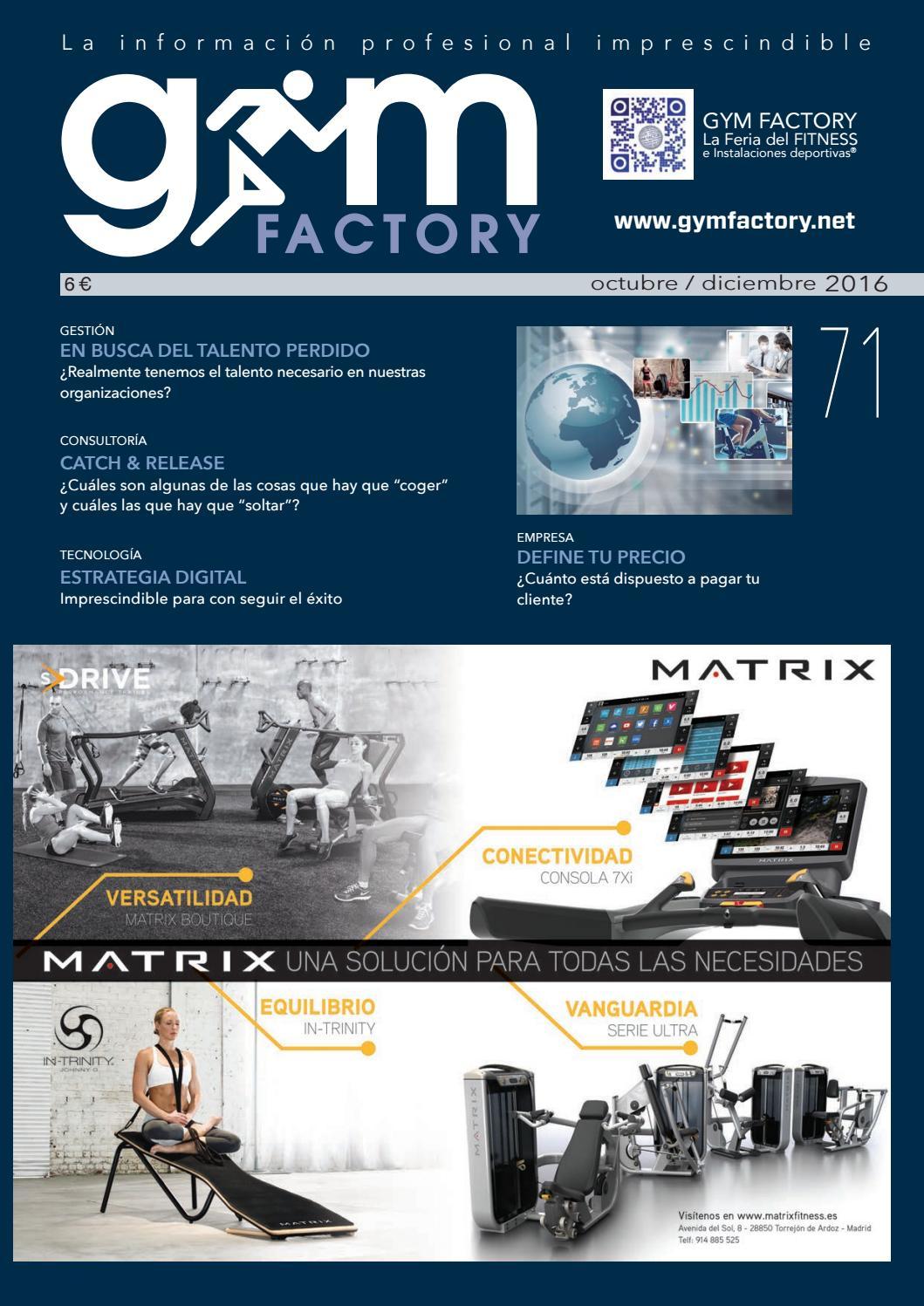 GYM FACTORY Gestión 71 by Gym Factory Magazine - issuu 4831f1a87d41