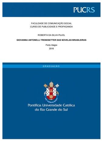 72fa88adb2 Giovanna Antonelli  Trendsetter das novelas brasileiras by Roberta ...