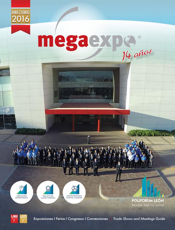 Directorio Megaexpo 2016 By Latinamerica Meetings Issuu
