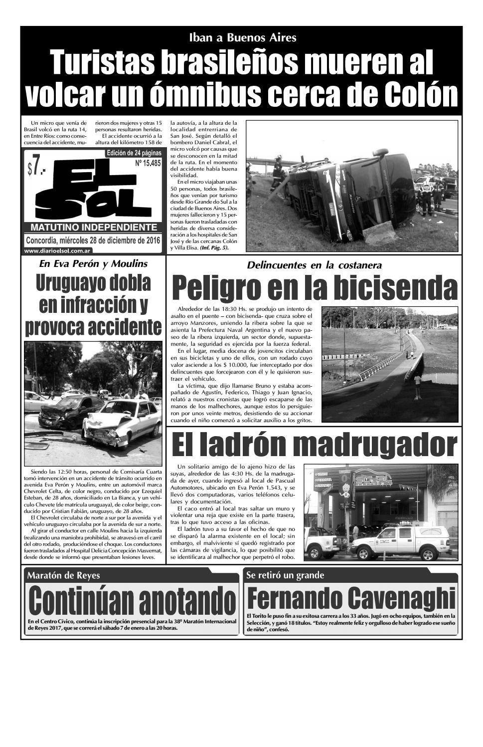 Diario El Sol Miércoles 28 Diciembre 2016 By Diario El Sol Issuu