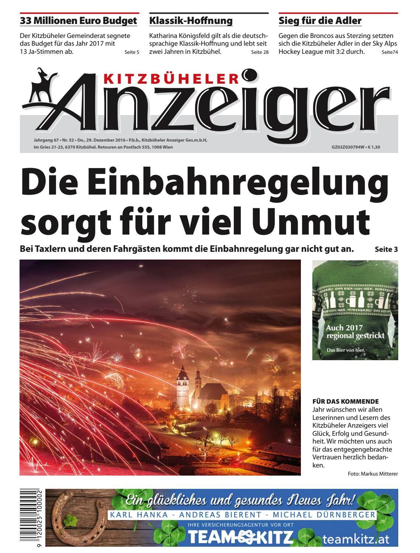 Kitzbüheler Anzeiger KW 52 2016 by kitzanzeiger - issuu