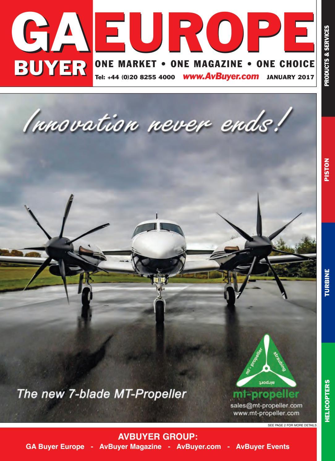 GABuyer Europe January 2017 by AvBuyer Ltd  - issuu