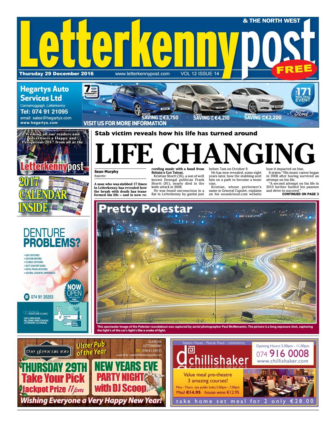 Letterkenny Post 29 12 16 By River Media Newspapers Issuu Voucher Mcd 50000 Mcdonalds