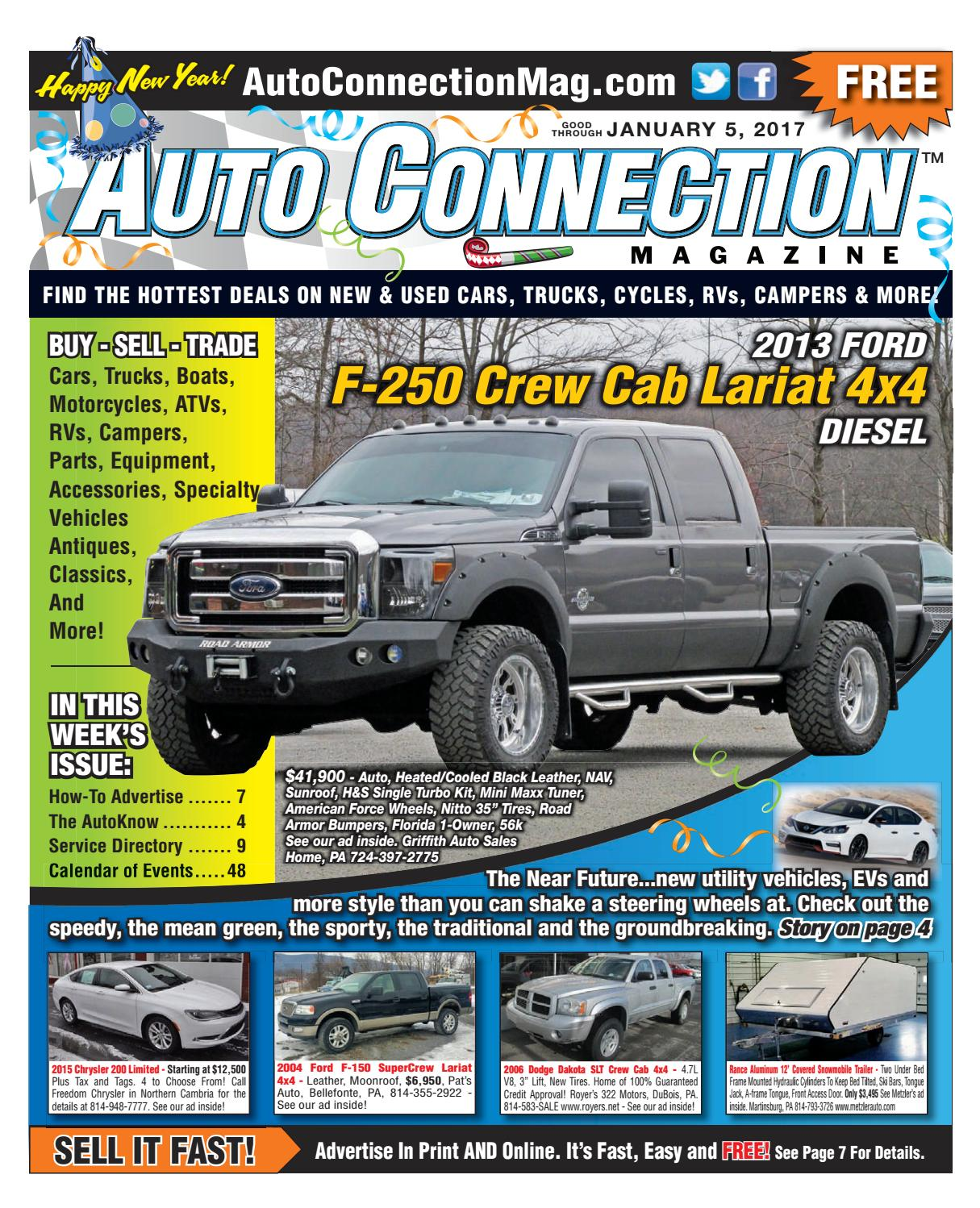 01-05-17 Auto Connection Magazine by Auto Connection Magazine - issuu
