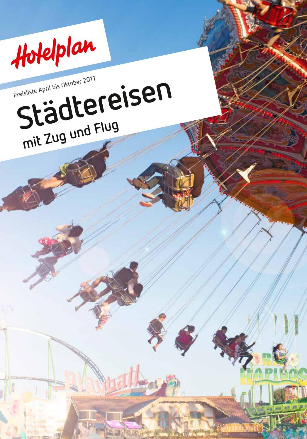 Preisliste Hotelplan Stadtereisen April Bis Oktober 2017 By Suisse MTCH AG