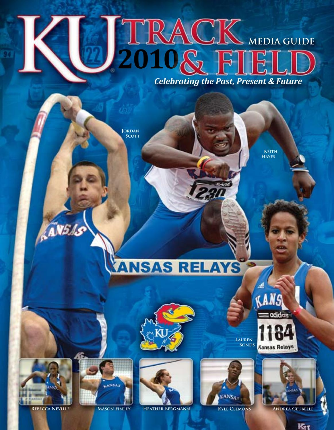 brand new bbd55 1ba33 2010 Kansas Track  Field Media Guide by Kansas Jayhawks - is