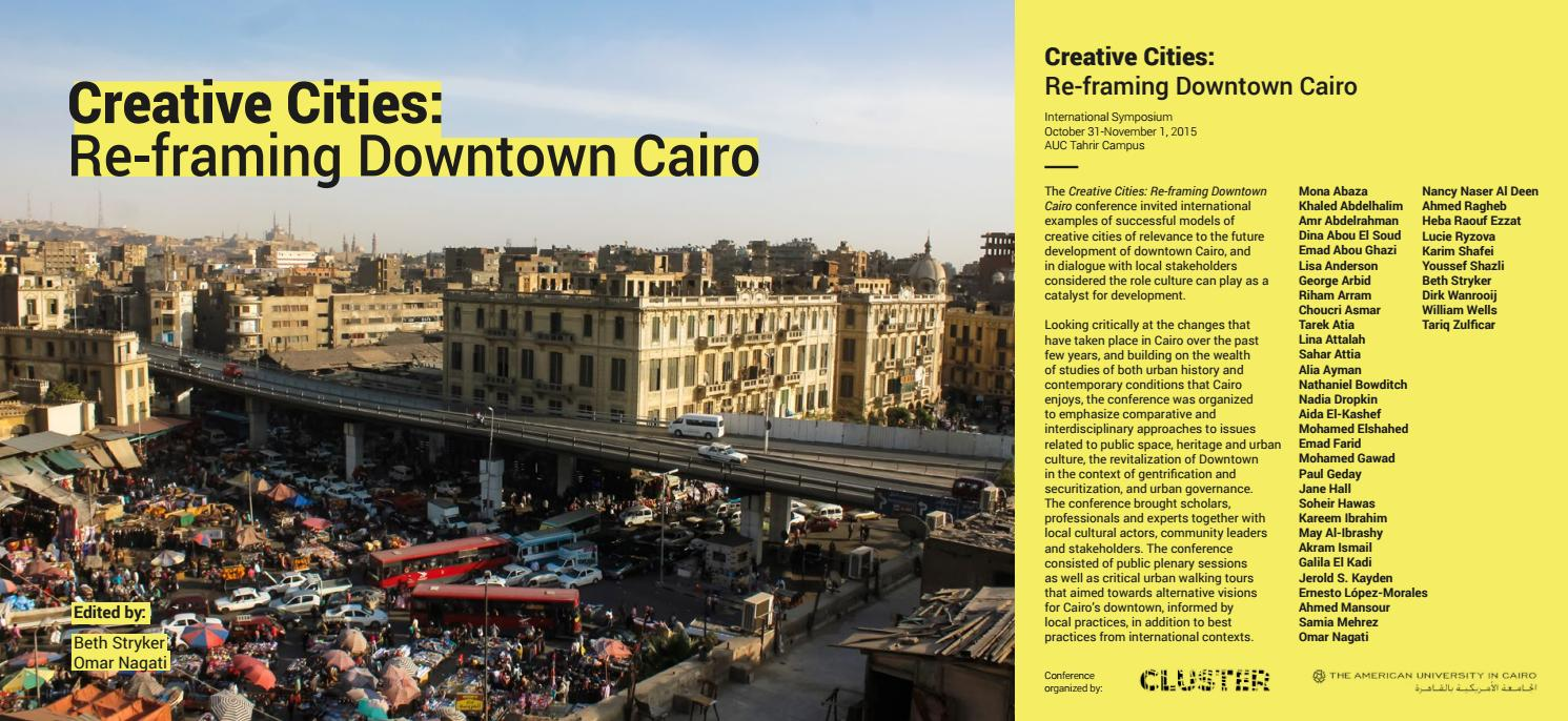 creative cities re framing downtown cairo by cluster issuu