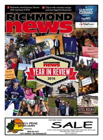 Richmond News December 28 2016 by Richmond News - issuu