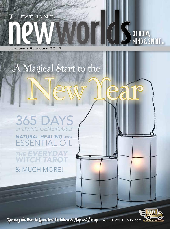 Llewellyn's New Worlds Catalog, January/February 2017 by Llewellyn