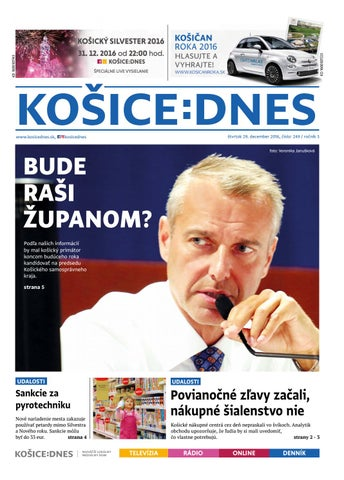 d314591c1 KOŠICE:DNES 29.12.2016 by KOŠICE:DNES - issuu