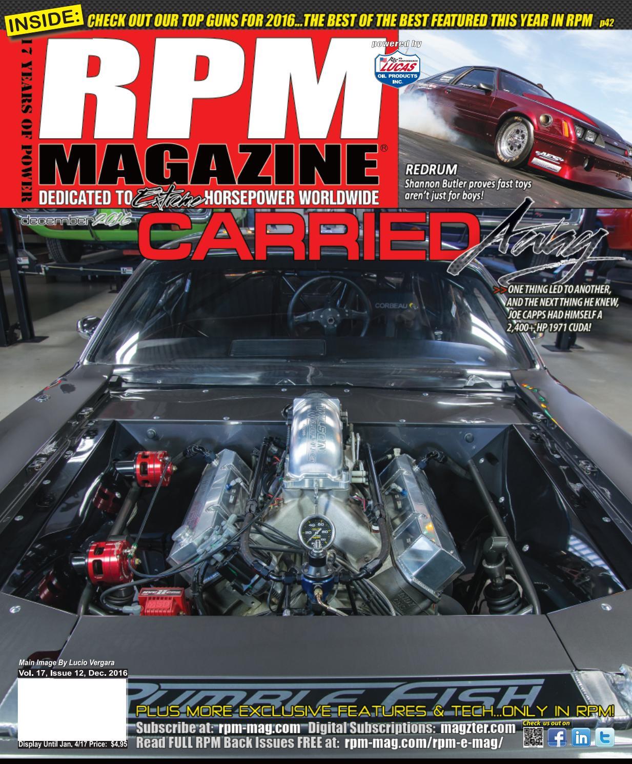 RPM Magazine December Issue 2016 by RPM Magazine - issuu