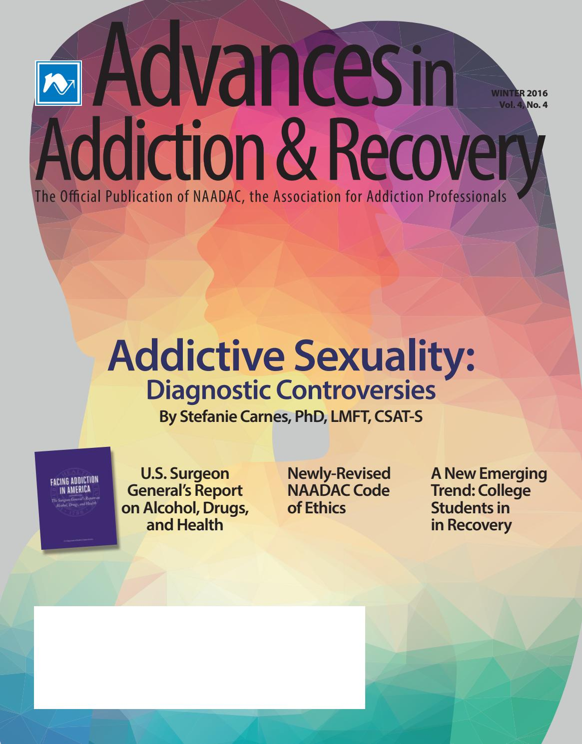 Advances In Addiction Recovery Winter 2016 By Naadac The
