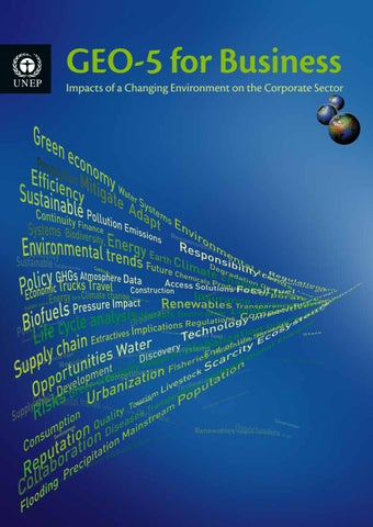 GEO-5 for Business - UNEP