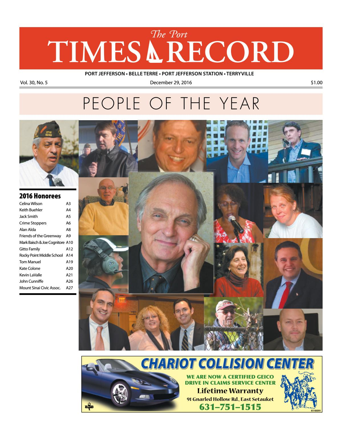 Manuel Collision Center >> The Port Times Record - December 29, 2016 by TBR News ...