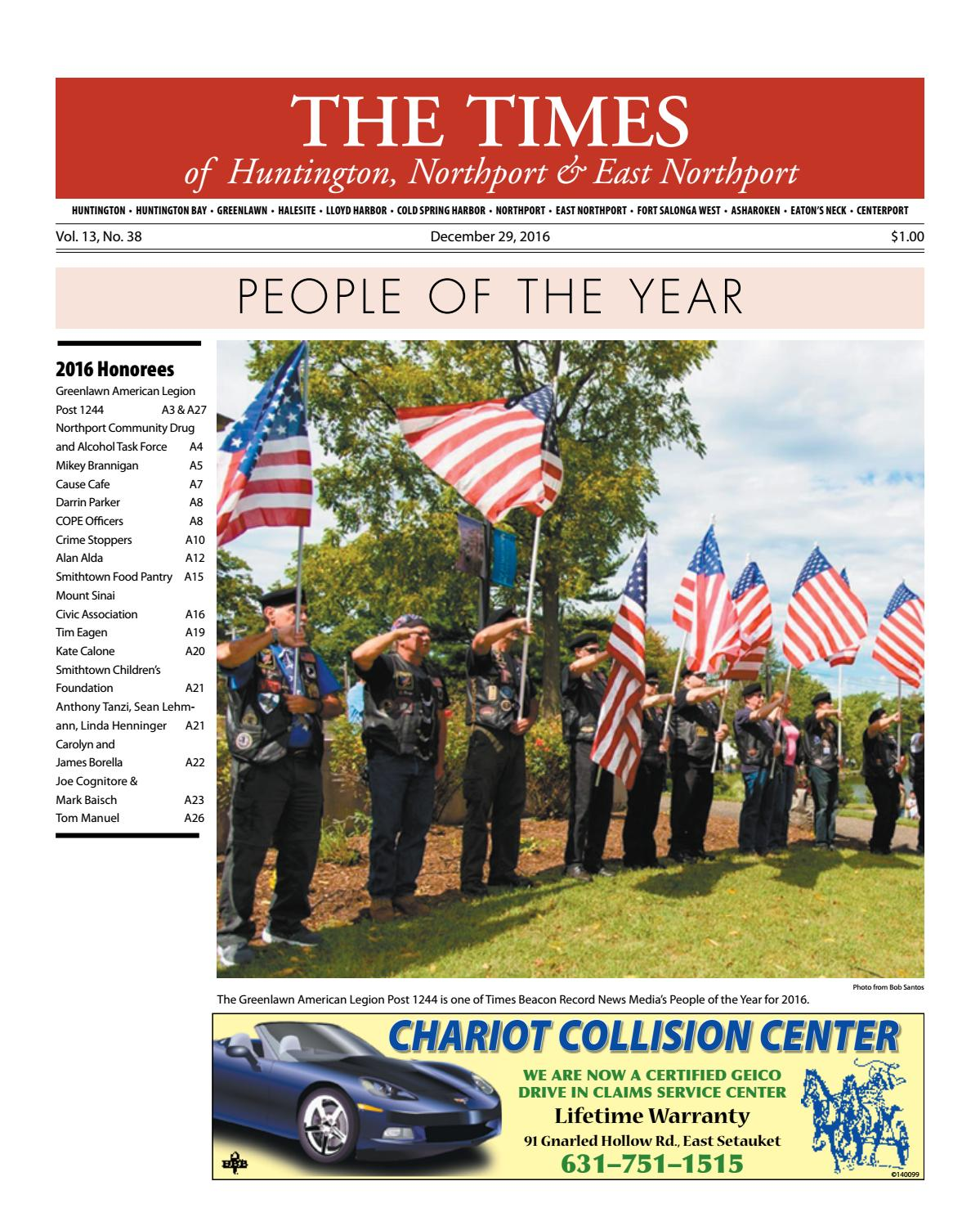 The Times of Huntington-Northport - December 29, 2016 by TBR