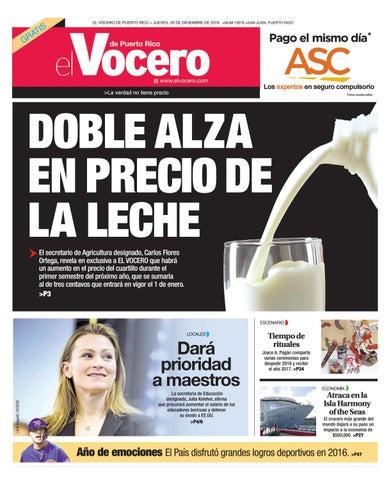 de7830381c Edición 29 de Diciembre 2016 by El Vocero de Puerto Rico - issuu