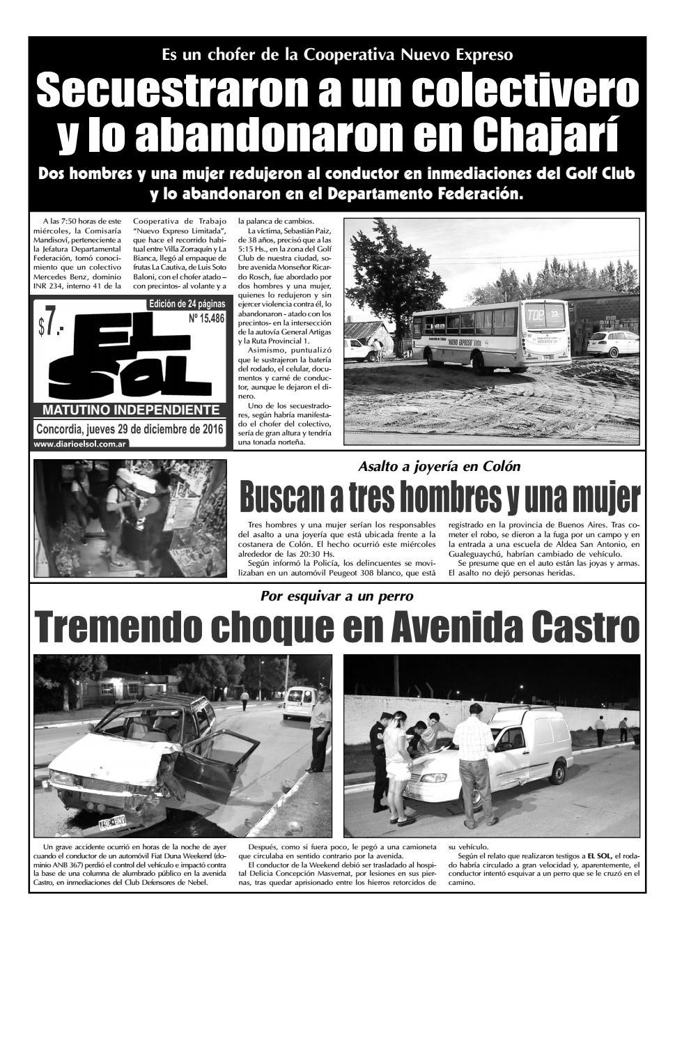 Diario El Sol Jueves 29 Diciembre 2016 By Diario El Sol Issuu