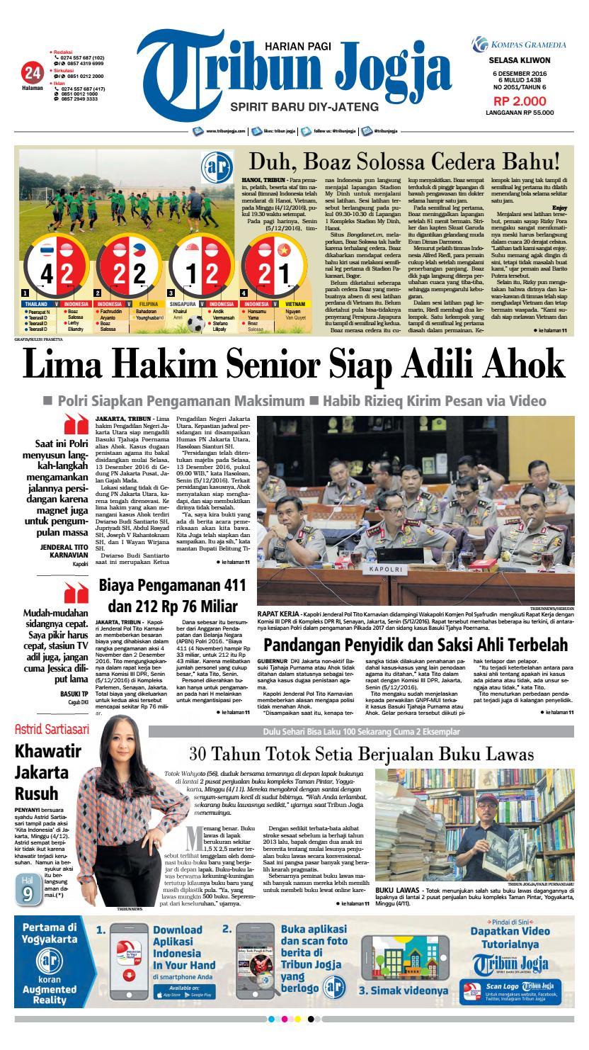 Tribunjogja 06 12 2016 By Tribun Jogja Issuu Produk Ukm Bumn Pusaka Coffee 15 Pcs Kopi Herbal Nusantara Free Ongkir Depok Ampamp Jakarta