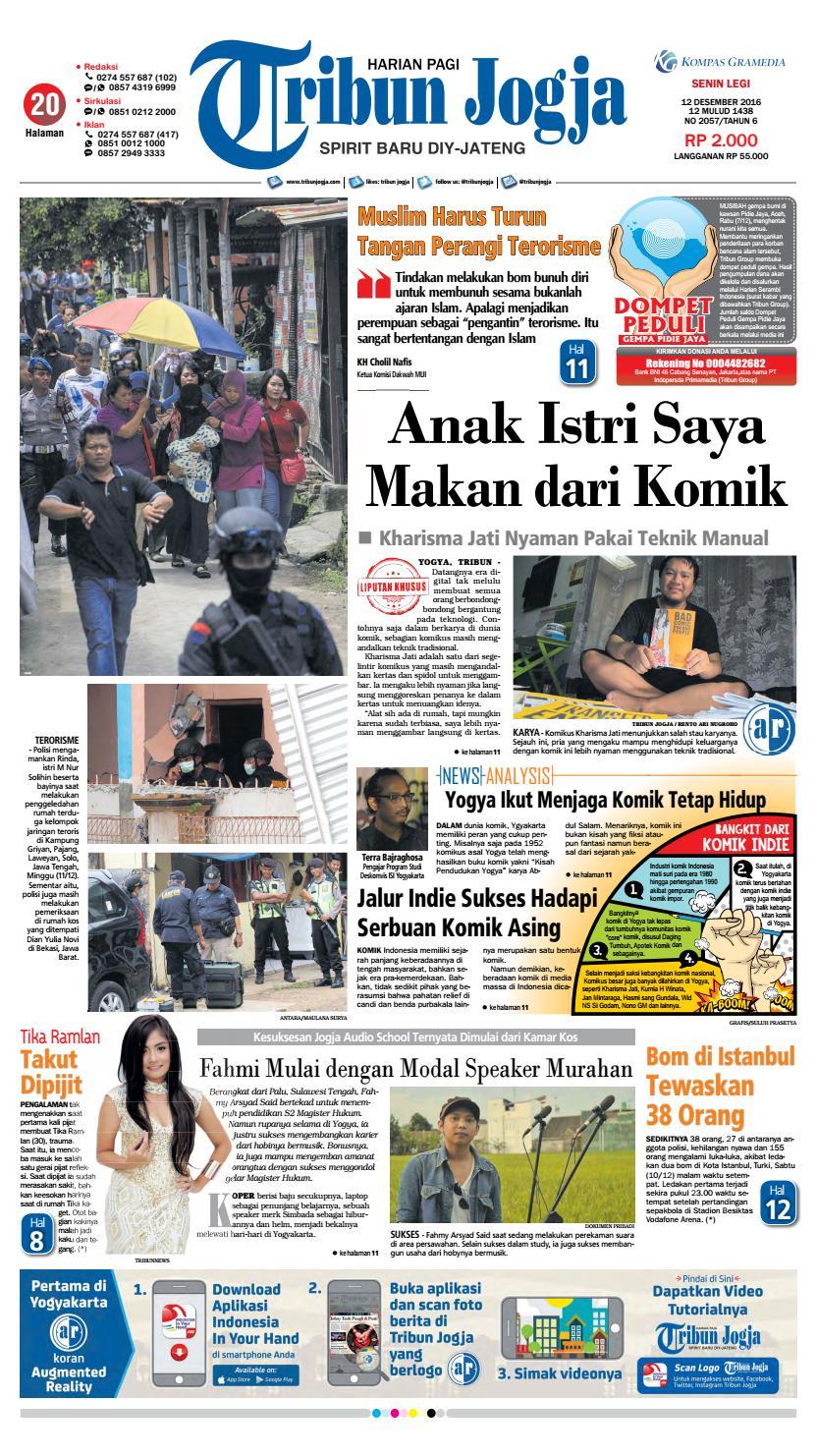 Tribunjogja 12 2016 By Tribun Jogja Issuu Produk Ukm Bumn Kain Batik Eksklusif Lasem Manuk