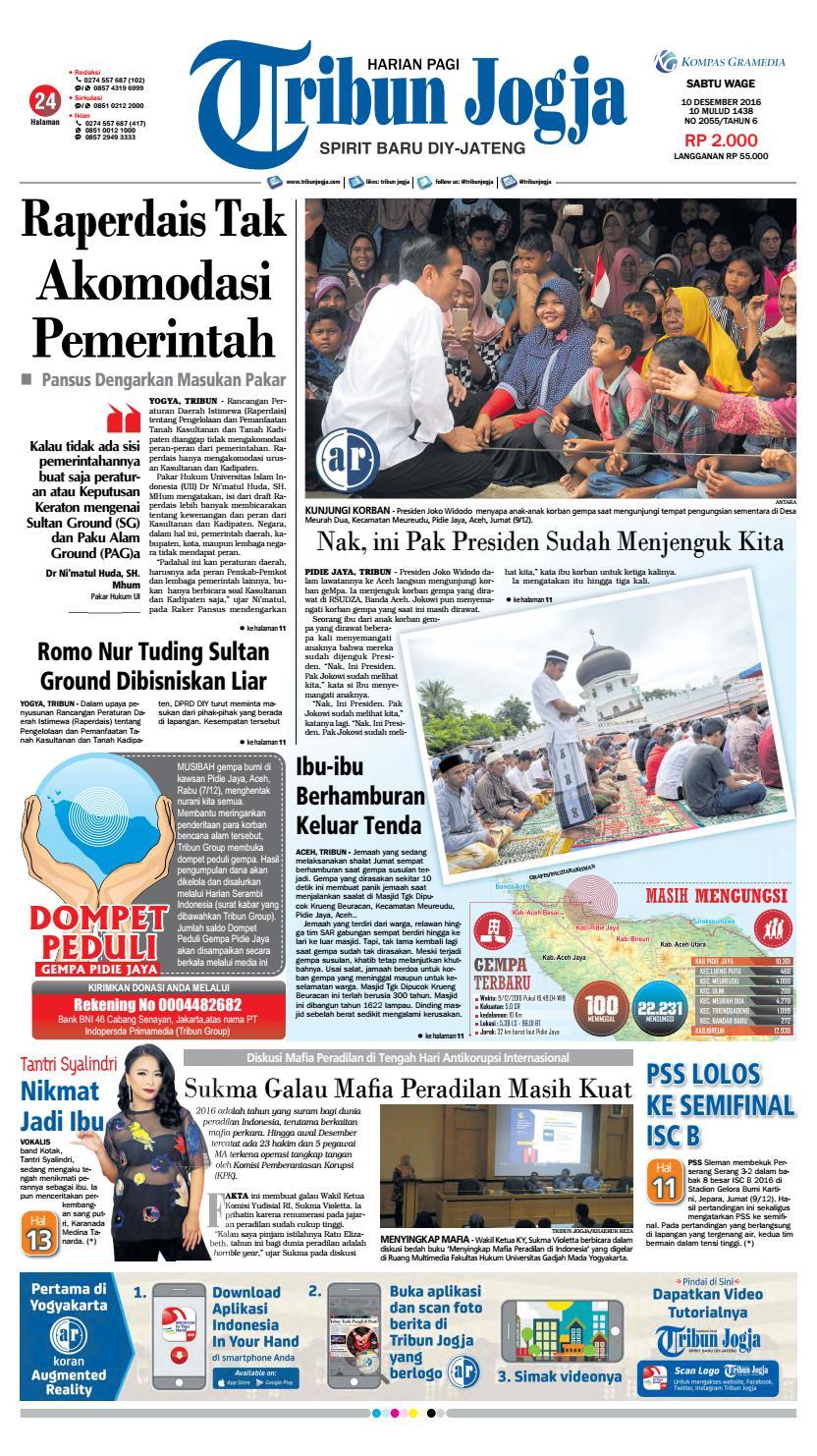 Tribunjogja 10 12 2016 By Tribun Jogja Issuu Produk Ukm Bumn Bale Sehat Teh Rosella Merah 3 Box